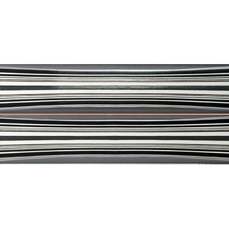 Decor Biscayne Negro (incision) 20x60