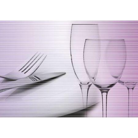 Decor Cutlery Malva/lavanda I 31x60