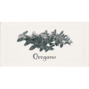 Decor Oregano Blanco 10x20