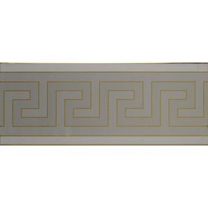 Decor Parthenon Gold Slategrey 20x50