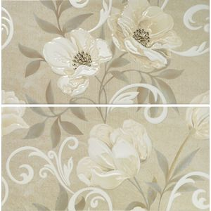 Decor Set(2) Zelly Beige 31x60