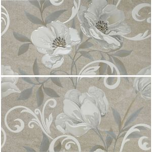 Decor Set(2) Zelly Grey 31x60