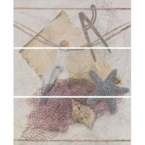 Decor Set(3) Beach Perla 20x50