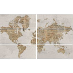 Decor Set(6) The World Perla 20x50